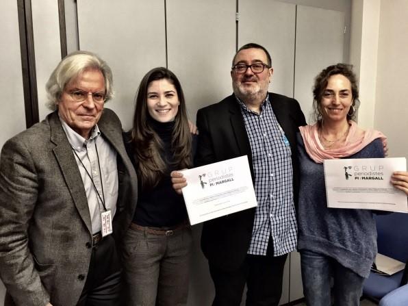 con Periodistas catalanes