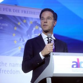 "Albert Rivera: ""Felicito al primer ministro liberal Mark Rutte por frenar al populismo en Holanda"""