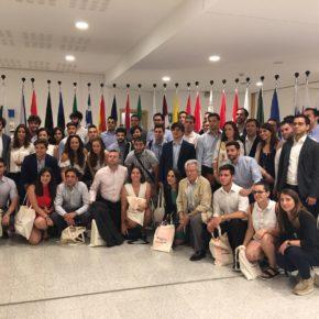 """Melisa Rodríguez """"Hoy hemos compartido las claves para mejorar el futuro de los jóvenes, tanto en la vida laboral como en la política"""""""