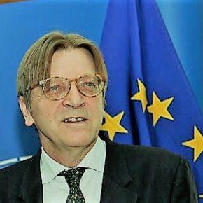 """Guy Verhofstadt """"Mejoren la oferta de Brexit a los ciudadanos de la UE, o vetaremos el acuerdo"""""""