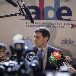 """Albert Rivera: """"En las próximas elecciones europeas Ciudadanos será parte de la solución para luchar por reactivar una Europa más fuerte y unida"""""""