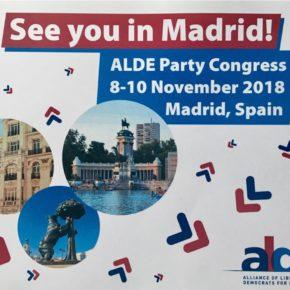"""Garicano (Cs) """"El próximo congreso de ALDE en España confirmará a Ciudadanos como actor esencial en la construcción de la Europa de los valores que queremos"""""""