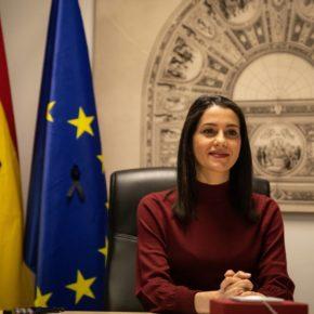 Arrimadas prepara con la delegación de Ciudadanos en Bruselas una ofensiva contra las mentiras del independentismo catalán en Europa