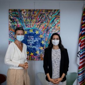 Arrimadas se reunirá con las vicepresidentas de la Comisión Europea Vestager y Jourová y con la dirección de los liberales europeos en su viaje a Bruselas