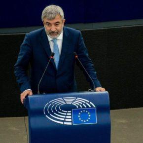 Ciudadanos lleva al Pleno del Parlamento Europeo las puertas giratorias de PP y PSOE con las compañías eléctricas